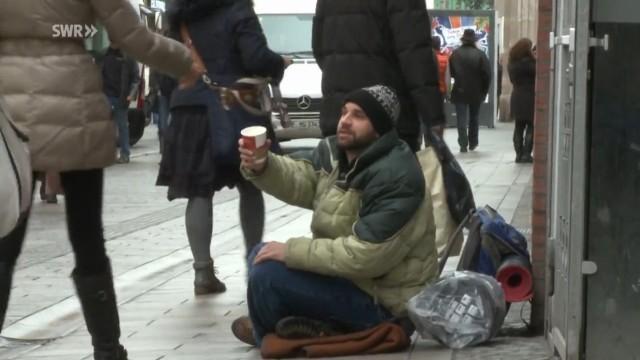 Drei Tage obdachlos