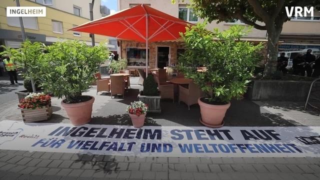 Erneute Demo in Ingelheim