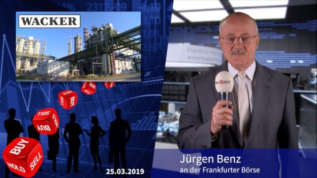 Analyser to go: HSBC stuft Wacker Chemie herunter