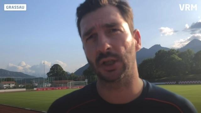 Trainingslager Mainz 05: Schwarz im Gespräch