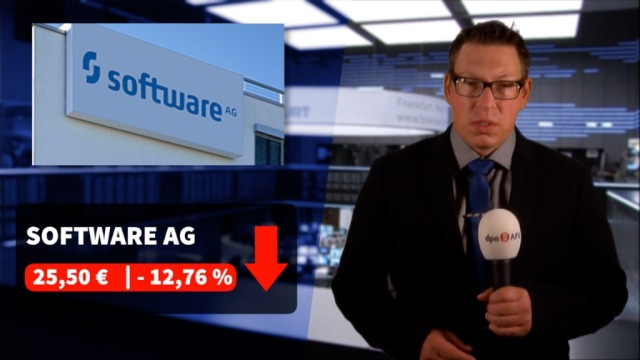 Dax auf Erholungskurs - Aktie der Software AG stürzt ab