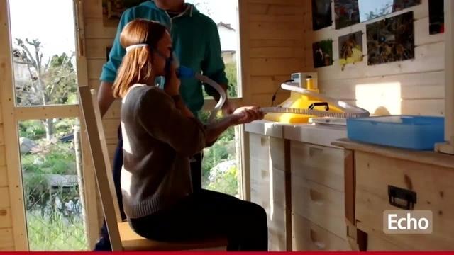 Bienenstockluft inhalieren in Bürstadt
