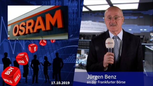 Analyser to go: Osram nach Übernahme-Fehlschlag gesenkt