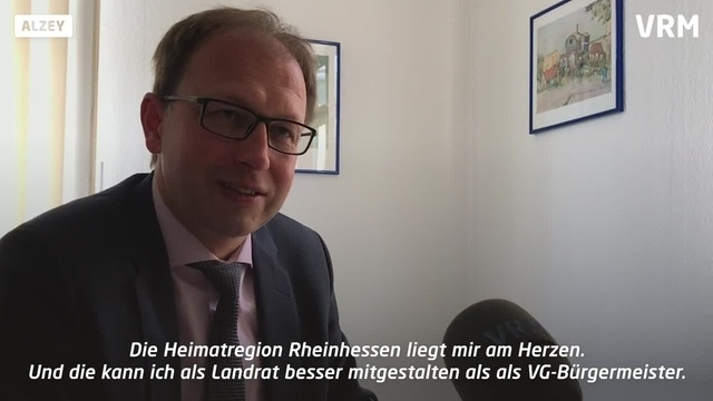CDU-Landratskandidat Markus Conrad stellt sich vor