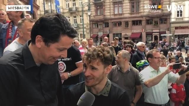 Wiesbaden feiert die SVWW-Aufstiegshelden