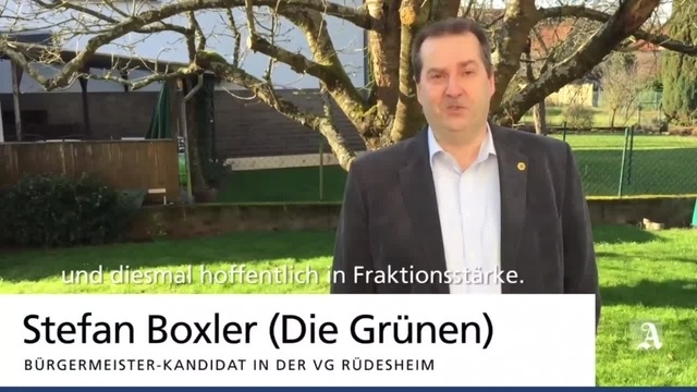 Bürgermeisterwahl in der VG Rüdesheim ? drei Fragen an die Kandidaten