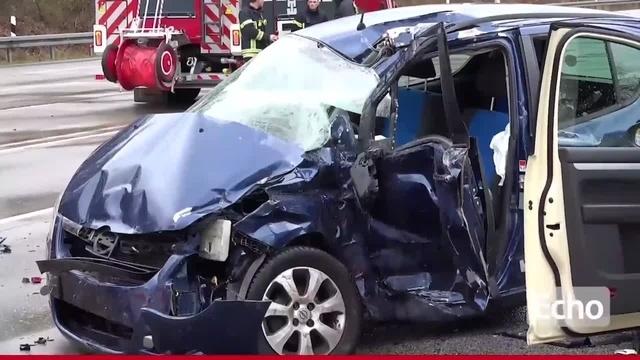 Schwerer Verkehrsunfall in Darmstadt-Eberstadt