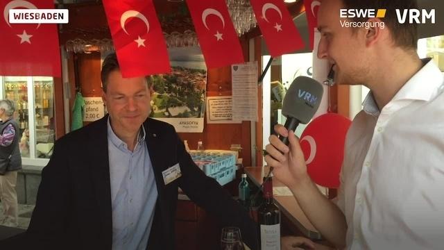 Türkische Weine auf Rheingauer Weinwoche