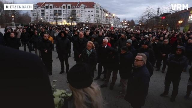 Die Region gedenkt der Opfer von Hanau