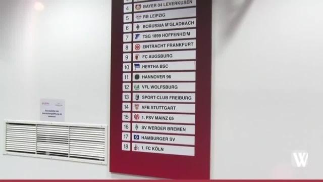 Eintracht Frankfurt vor dem Start in die Rückrunde