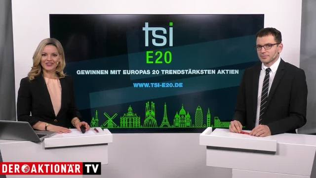 TSI E20 Zertifikat – Europas 20 Top-Aktien