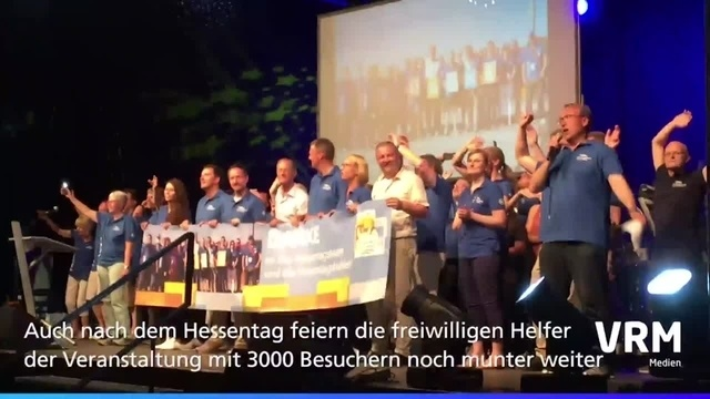 Rüsselsheim: Helferparty zum Hessentag