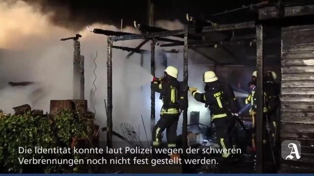 Heidesheim: Todesopfer bei Brand auf Campingplatz