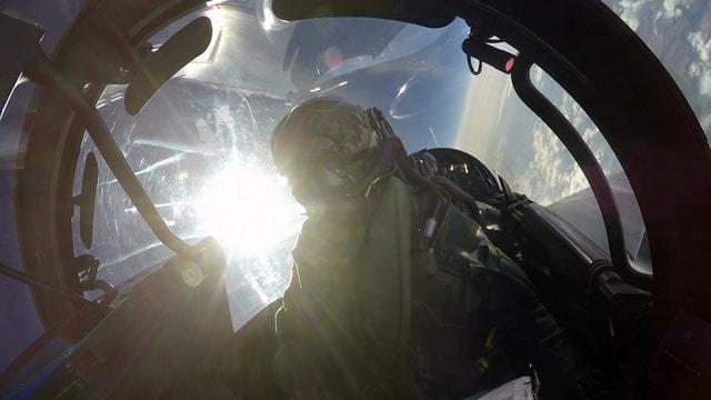 Selbstversuch im Eurofighter