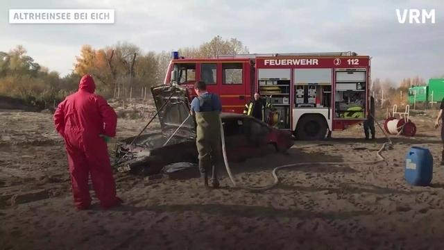 Eich: Versenktes Auto aus dem See geborgen
