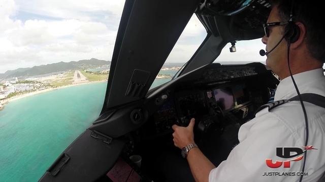 Im Dreamliner nach St. Maarten