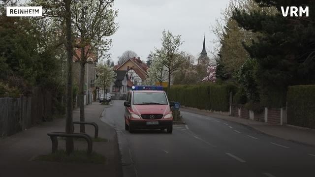 Das Deutsche Rote Kreuz ist in Reinheim unterwegs