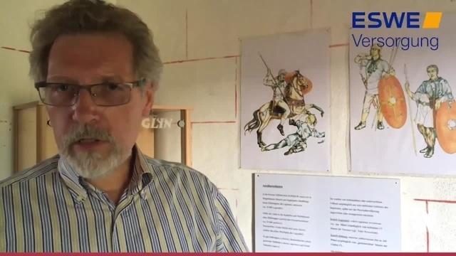 Ausstellung im Limesturm Idstein