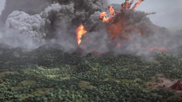 Der unbekannte Vulkanausbruch