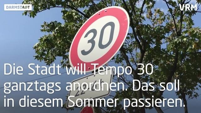 Tempo 30 soll Cityring in Darmstadt sicherer machen