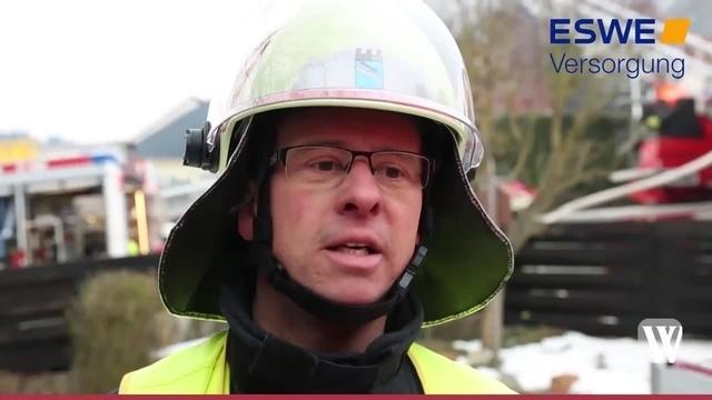 Bad Schwalbach: Brand in Hettenhain - Munition explodiert