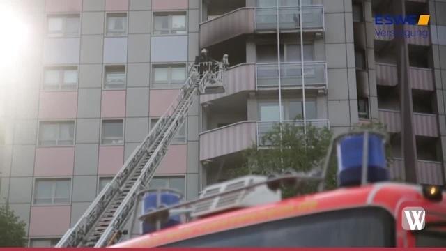 Rüsselsheim: Motorrad löst Wohnungsbrand aus