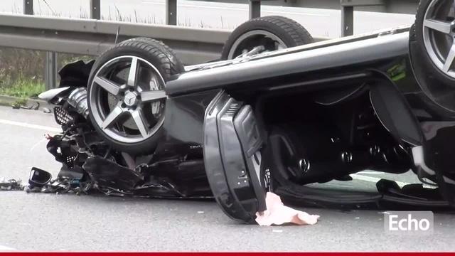 Bensheim: Schwerverletzter bei Unfall auf der A5