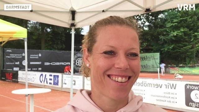 Darmstadt: Laura Siegemund legt Schnellstart hin