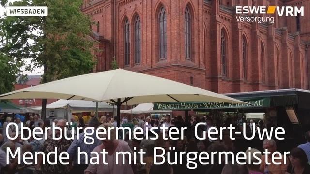 Die Eröffnung der Rheingauer Weinwoche