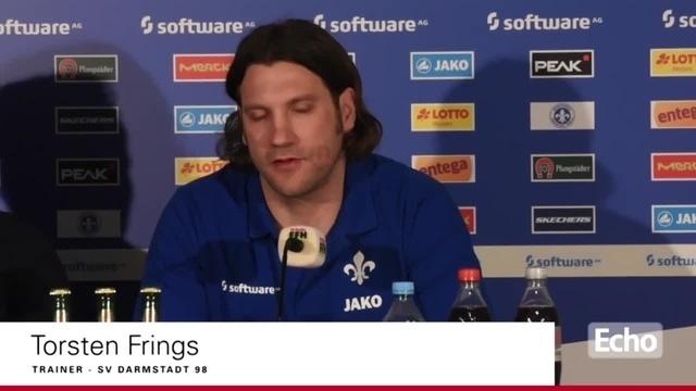 Pressekonferenz des SV Darmstadt 98 vor dem Spiel gegen Borussia Mönchengladbach
