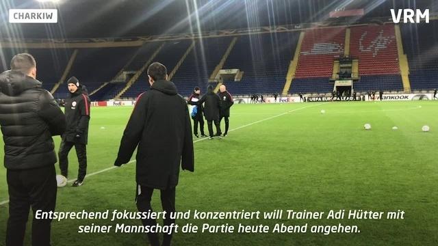 Charkiw: Schwere Aufgabe für Eintracht Frankfurt