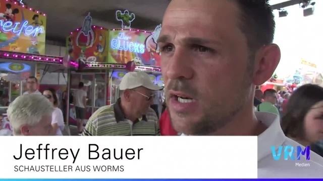 Markus trifft... zwei Schausteller auf dem Wormser Pfingstmarkt