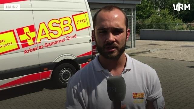 Unbekannter schießt auf ASB-Rettungswagen