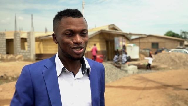 Johns Rückkehr nach Ghana