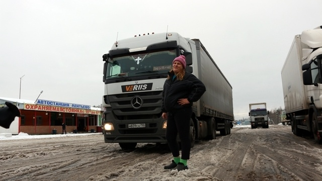Russlands Truckerinnen
