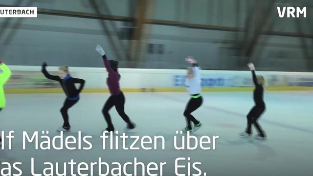 Deutsche Eiskunstlaufmeisterin trainiert den Nachwuchs