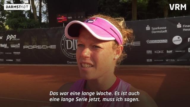 Laura Siegemund gewinnt auch Halbfinale in Darmstadt
