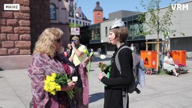 Demonstration gegen Corona-Maßnahmen in Mainz