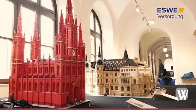 Wiesbaden: Ein Lego-Rathaus im Rathaus