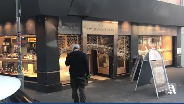 Mainz: Einbruch bei Juwelier