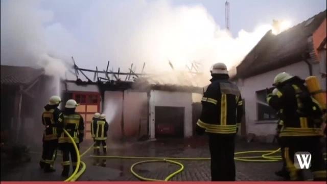 Brand in Niedernhausen