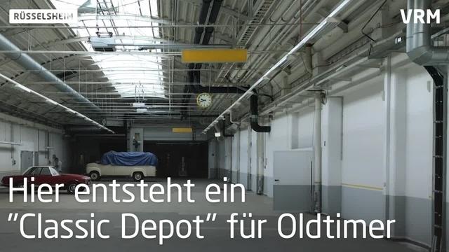 Classic Depot - eine Oldtimer-Heimat in Rüsselsheim