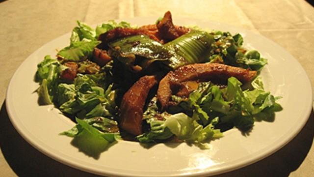 Lauch-Endivien-Kürbis-Salat