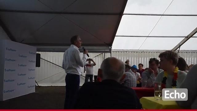 Event der Begegnung: Der SV Darmstadt 98 beim Public Viewing der Software AG