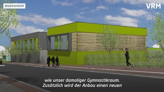 Es geht los: Spatenstich für Erweiterungsbau der TGM Budenheim