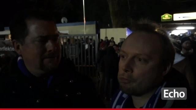 Stimmen der Fans nach dem Spielabbruch SV Darmstadt 98- 1. FC Kaiserslautern