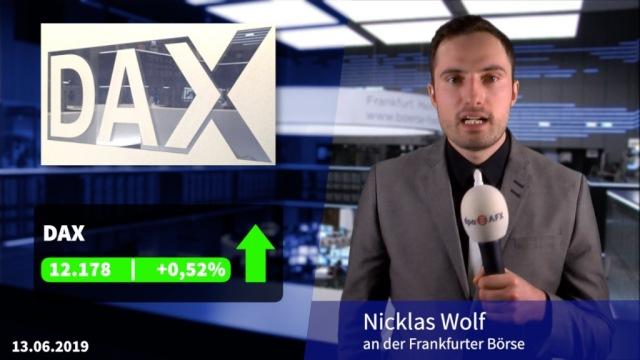 Dax und Dow legen wieder zu - Aufatmen nach 5G-Auktion