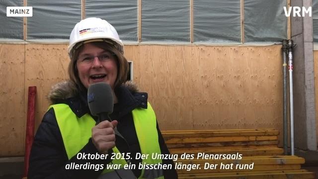 Sanierung des rheinland-pfälzischen Landtags