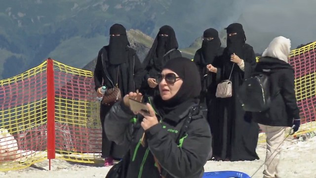 Araber auf Alpentour