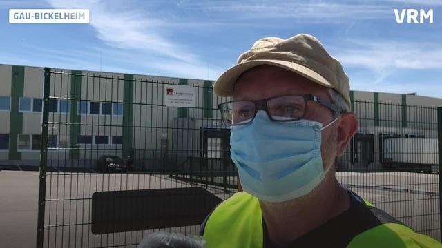 Protest vor Sutter-Werk in Gau-Bickelheim